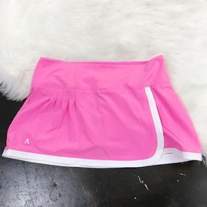 Antigua Women's Pink/White Athletic Tennis Skort M